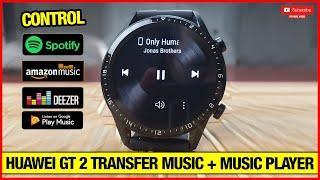 Huawei Watch GT 2 How To Transfer Songs & Music Player Review! screenshot 4