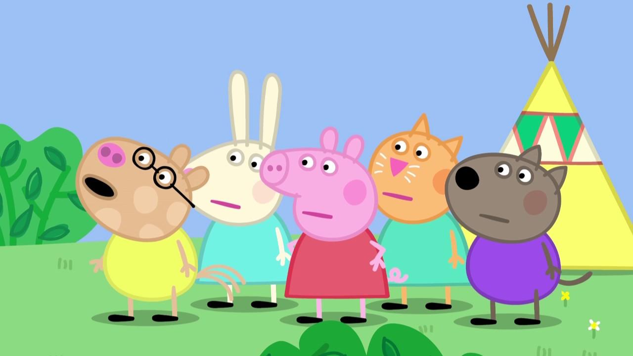 Peppa Pig 粉紅豬小妹 第四季24【秘密俱樂部】中文版1080P - YouTube