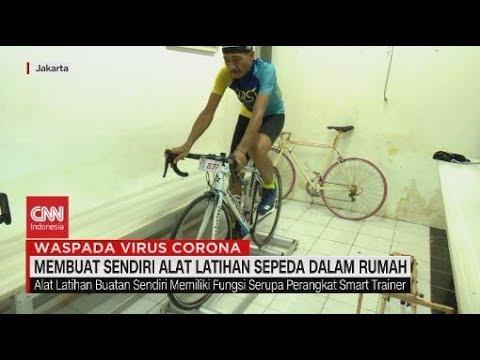 Membuat Sendiri Alat Latihan Sepeda Dalam Rumah Youtube