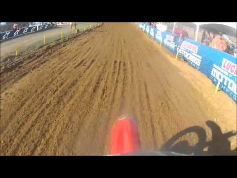 Kasie Creson On Board Moto 2 Freestone GoPro