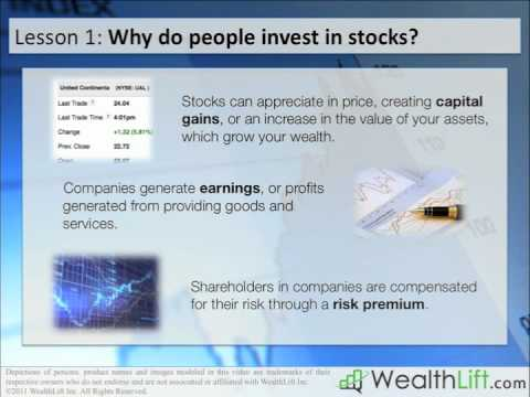 Stock Investing Lesson 1 - What is the Stock Market?