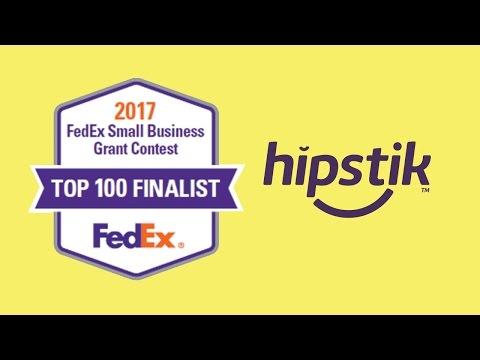 Hipstik FedEx Small Biz Grant Top 100 Finalist