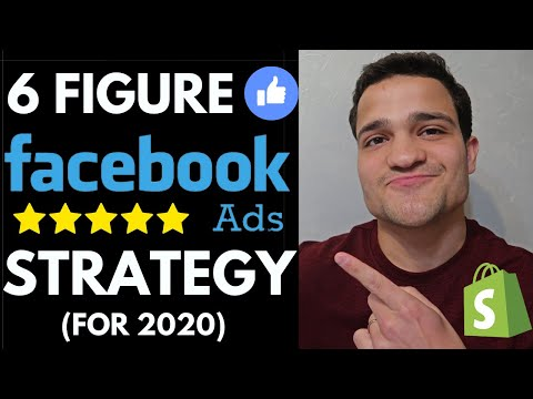 6 FIGURE FACEBOOK ADS Strategy for 2020: Facebook Ads Course for Shopify Stores | FB Ads Tutorial thumbnail
