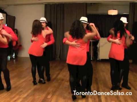 Toronto Dance Salsa Kizomba Performance Class Summer 2014