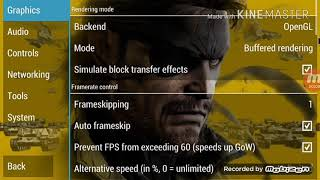 Metal Gear Solid Peace Walker Game Setting PPSSPP | With Download 🔗 link