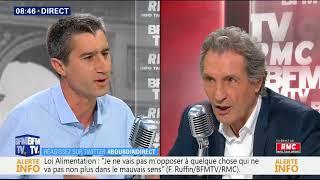 LE SHÉRIF DE NOTTINGHAM EST À L'ÉLYSÉE - Ruffin chez Bourdin