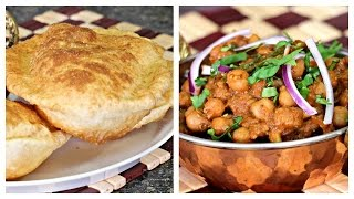 Chole Masala & Bhatura - Step by Step Cooking | Lunch/ Dinner/ Breakfast Menu Series