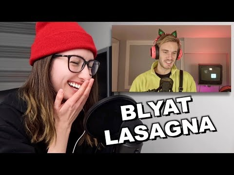 PewDiePie REACTED TO MY COVER OF BITCH LASAGNA