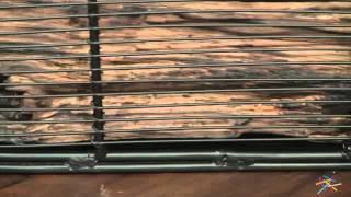 Minuteman Intl Handwoven Steel Woodbasket - Product Review Video