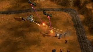 Generals Gentlemen Game #4 Humanity (GLA Stealth) vs Skyline (USAF)