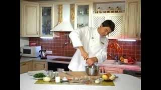 Куриный салат с яблоком Дмитрий Савочка