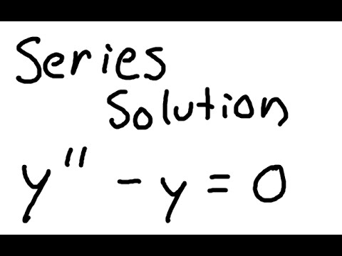 Series Solution to Differential Equations (Example 1