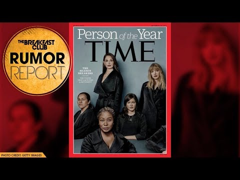 TIME Names The #MeToo Silence Breakers Their 'Person of the Year'