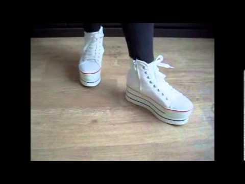 кроссовки на платформе фото