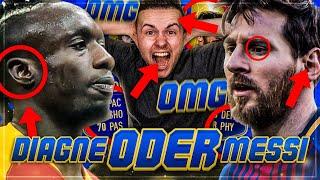 FIFA 19: OMG MESSI oder Diagne im Squad Builder BATTLE 😱🔥🔥
