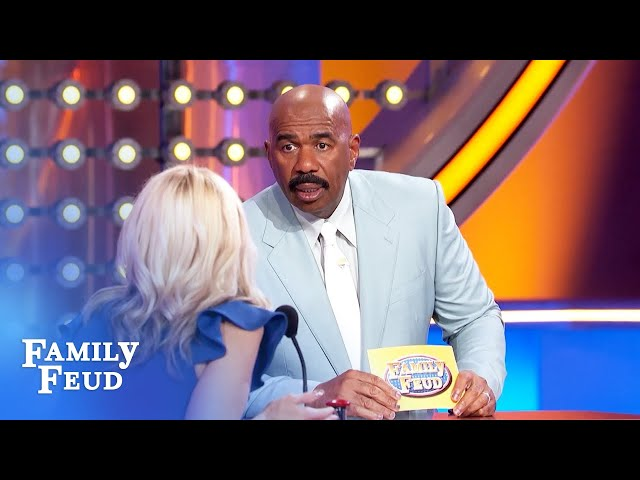Love spying under bathroom stall doors? Urine for some trouble! | Family Feud