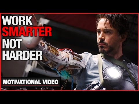 Work Smarter Not Harder - Motivational Video