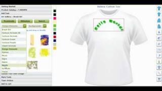 Custom T Shirt Design Software and Application Tool by CBSAlliance.com
