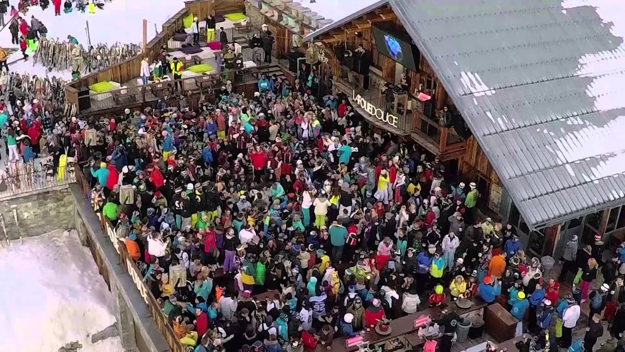 La Folie Douce Val Thorens 2015 Youtube