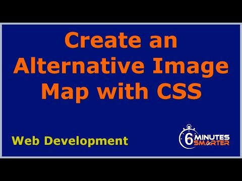 Create A CSS Alternative To An Image Map