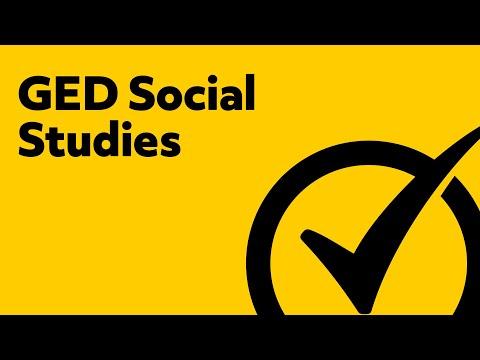 GED Social Studies [2018] Study Guide