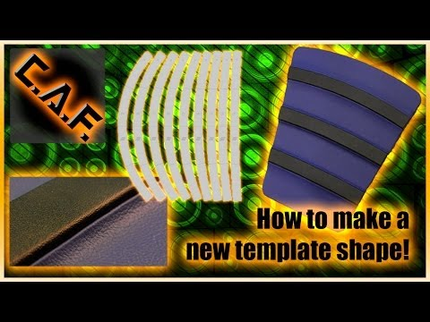 How to make a Car Audio Template ! Mobile Solutions True Arc Smart Templates CarAudioFabrication