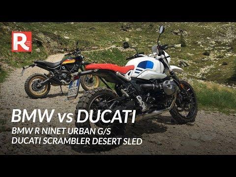 BMW R NineT Urban G/S Vs Ducati Scrambler Desert Sled
