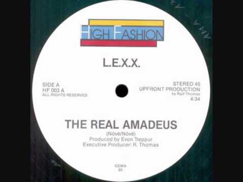 L.E.X.X. - The Real Amadeus. 1985
