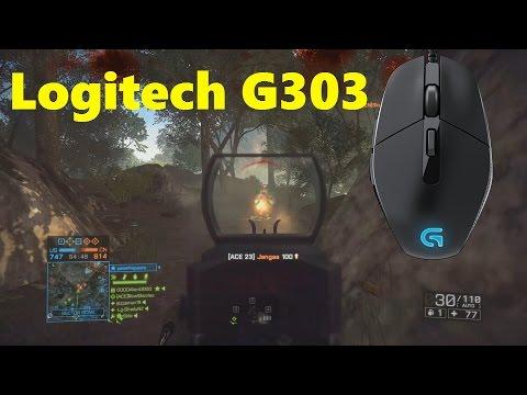 Logitech G303 Mouse Test - Battlefield 4