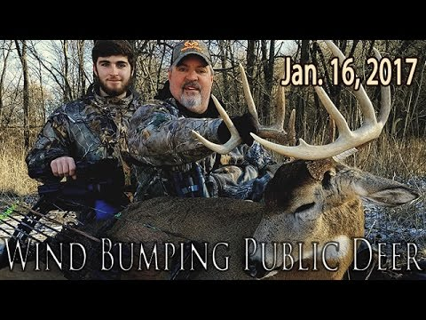 Wind-Bumping Public Deer - Last Chance Trophy | Midwest Whitetail