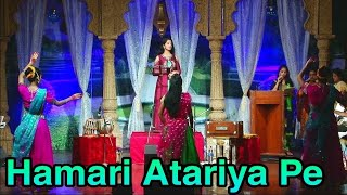 Hamari atariya pe aaja re sanwariya   Rekha Bhardwaj   Madhuri Dixit   Live By Gul Saxena