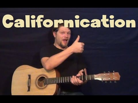 Californication (Red Hot Chili Peppers) Guitar Lesson Easy Strum Chord How to Play
