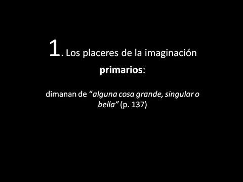 """Los """"placeres de la imaginacion primarios"""" (según Joseph Addison)"""
