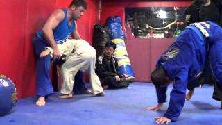 Mach Dojo Dan The Wolfman vs 12 year old tough Japanese Boy #2