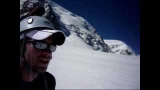 Mont Blanc du Tacul 2012 from Cosmiques Hut