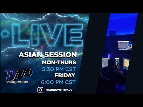 LIVE FOREX TRADING: Asian session 11-16-20