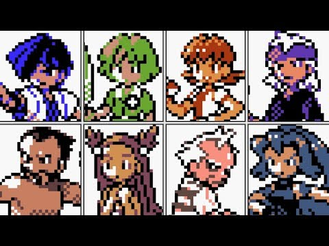 Pokémon Gold / Silver / Crystal - All Johto Gym Leaders