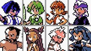 Pokémon Gold / Silver / Crystal - All Johto Gym Leaders