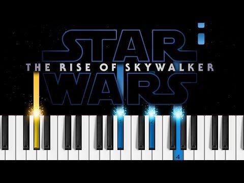 Star Wars: The Rise Of Skywalker - Final Trailer - Piano Tutorial