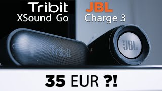 TRIBIT XSound Go  | Klangtest JBL Charge 3 | deutsch | 2018