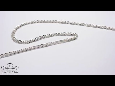 Серебряная цепь выглядит стильно и изысканно, а также подходит практически под любой образ. Если вы хотите сделать подарок себе или кому-то из близких, нет ничего лучше красивых и изящных цепочек из серебра, представленных в 585gold.