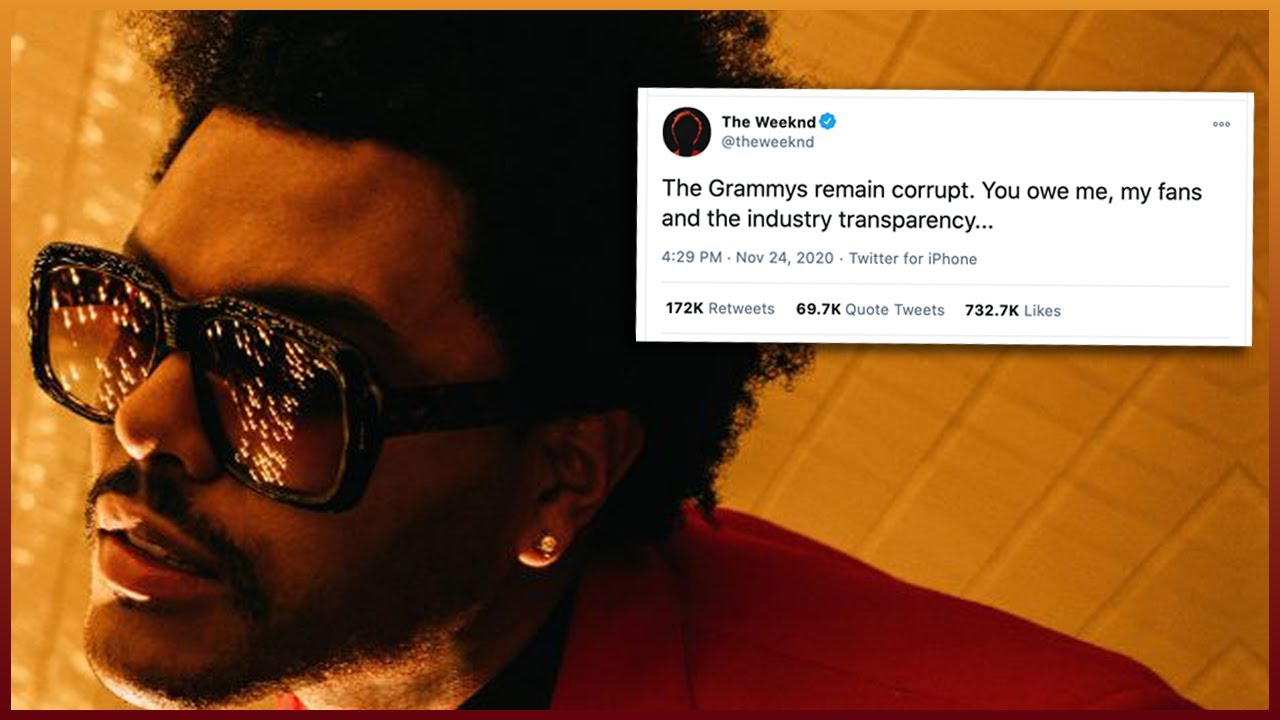 Grammy snubs: The Weeknd, with zero nominations, lashes out at ...