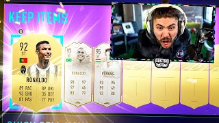 ICON SWAPS 2 PACKS!! RONALDO IN A PACK!! FIFA 21