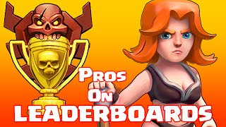 Clash Of Clans - PROs on LEADERBOARDS (Kings of Clash)