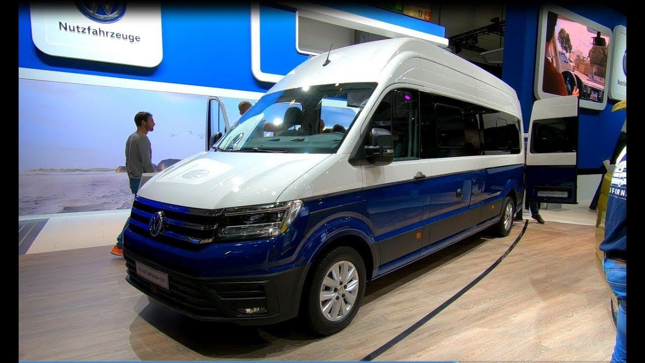 Volkswagen VW Grand California 680 4Motion all new Camper walkaround and  interior