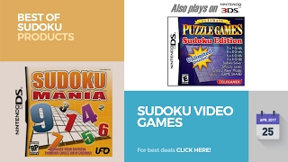 Sudoku Video Games Best Of Sudoku Products
