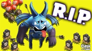 """Clash of Clans """"Minion Massacre"""" Don't Try This Clash Strategy At Home!"""