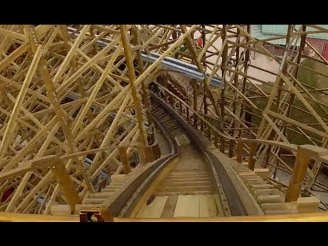 Wodan Timburcoaster POV Front Seat Roller Coaster OnRide Europa Park Germany GCI 2012