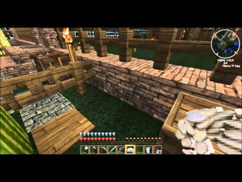 Minecraft Survival......Ghangi's World #16....Forest Fires