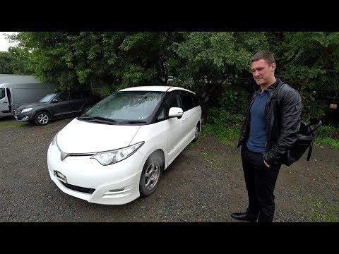 Конструктор из Японии - Toyota Estima Aeras / Priority Auto.